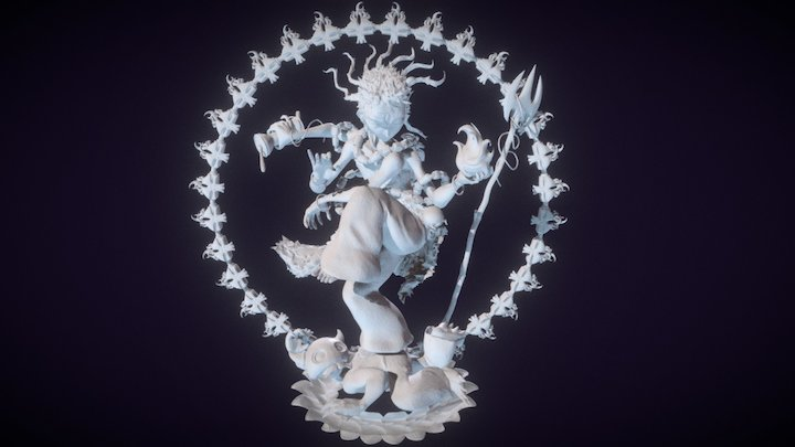 Shiva Nataraja 3D Model