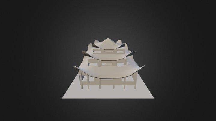 Casa China 3D Model