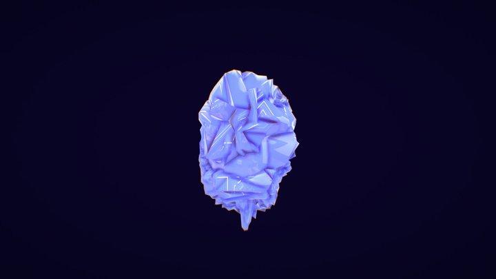 Roca Espacial Extraña 3D Model