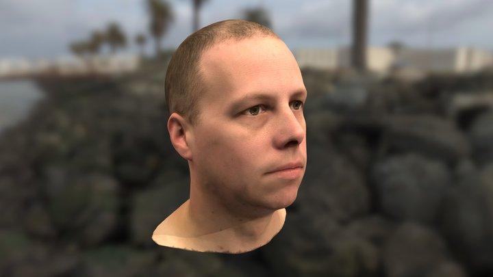 Steven Novak's Head Scan 3D Model