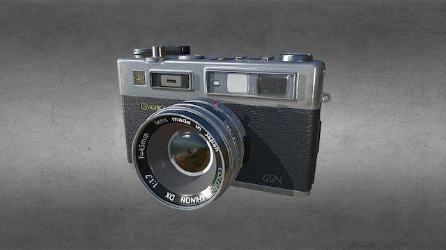 Yashica Electro 35 GSN 1966-1977; GSN: 1971-1977 3D Model