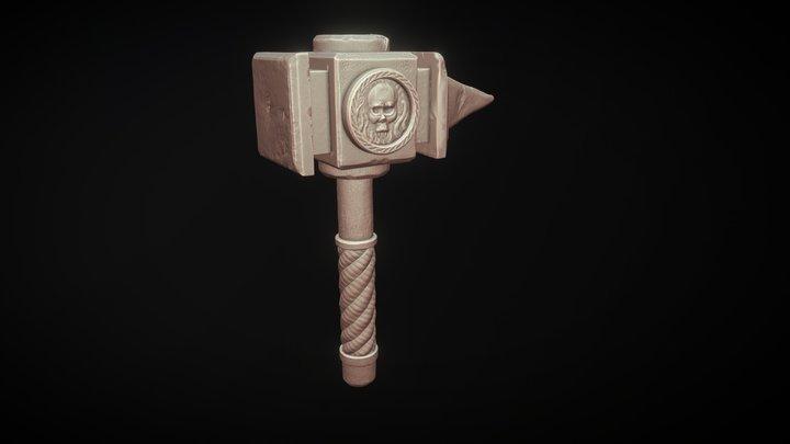 Day 09 - Tool #sculptjanuary2018 3D Model