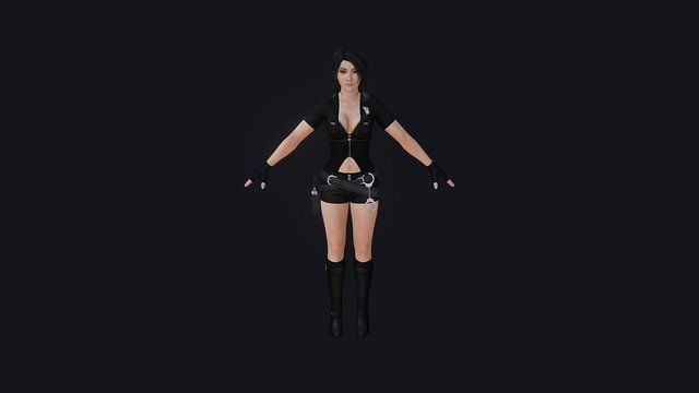Here is the most recent models character of us 3D Model