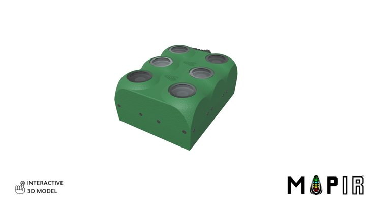 MAPIR Kernel 6 Camera Array [Exploded Animation 3D Model