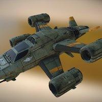 RI Dragonfly Mrk7 3D Model