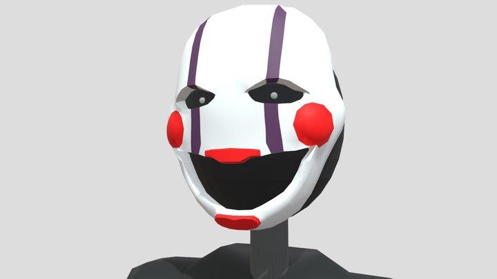 Stylized Puppet 3D Model