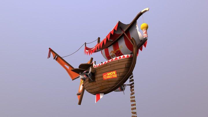 Flying Boat 3D Model