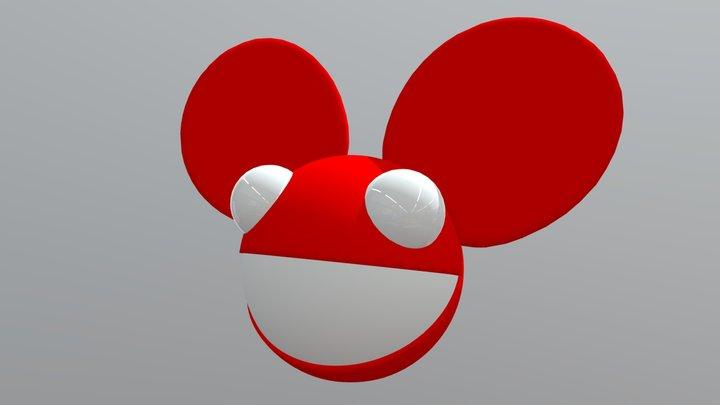 Original Red Deadmau5 head 3D Model