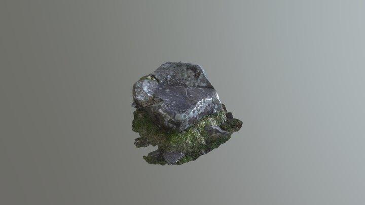 Marlbank Gt009 Rock Art 3D Model