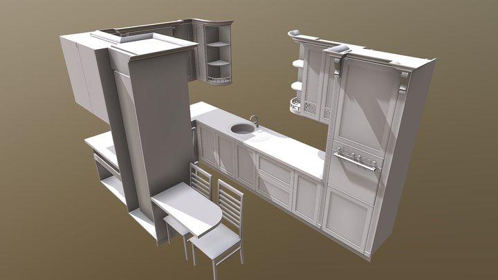 Кухня для Тамары из г. Ярославль 3D Model