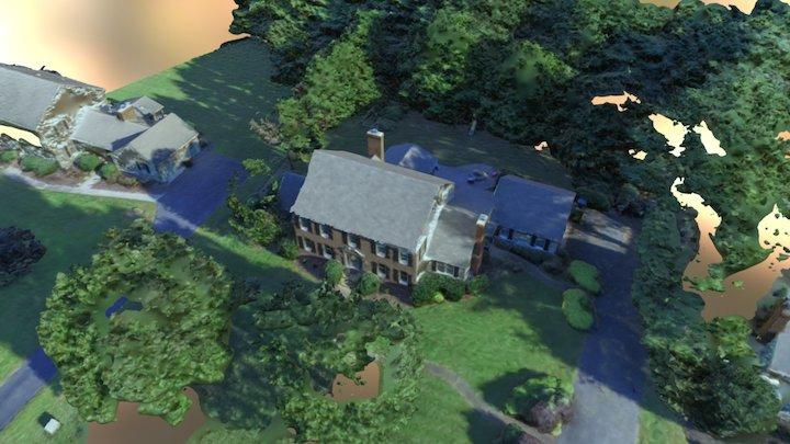 Residential Home Scan 3D Model