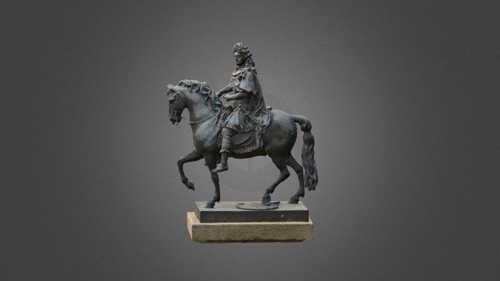 Louis XIV à Saint Jean de Luz - version *.obj. 3D Model