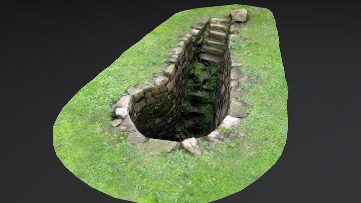 Pozo de Agua. Castro de Noega, Gijón 3D Model