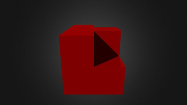 Red Piece New 3D Model