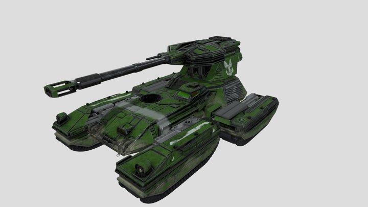 Scorpion tank (UNSC) Variant 3D Model