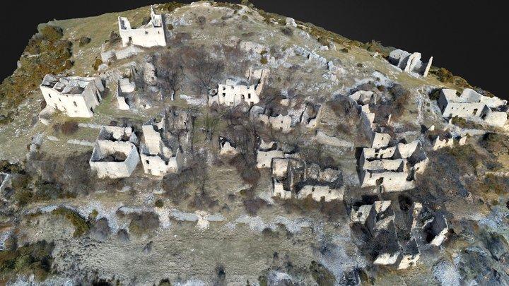 Châteauneuf-lès-Moustiers 3D Model