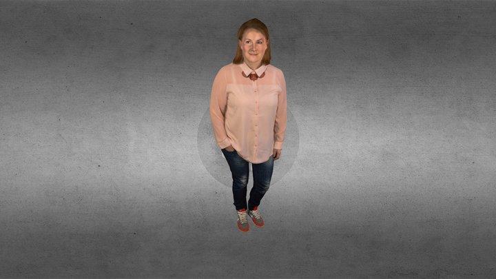 Anne_Strømsæther 3D Model