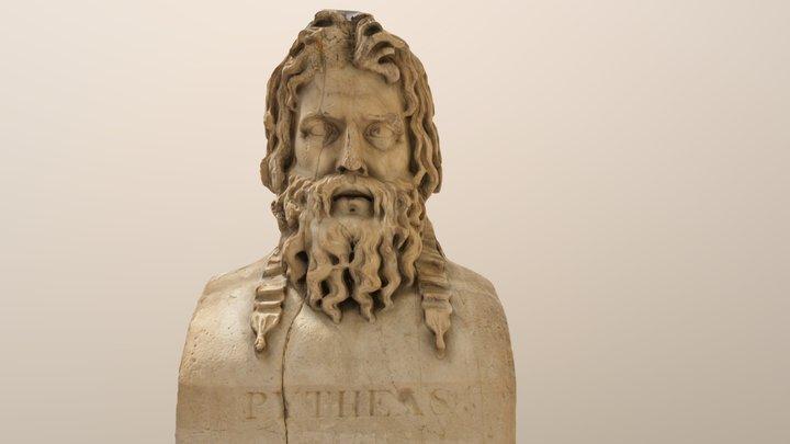 Statue-Janus, Pythéas et Euthyménès 3D Model