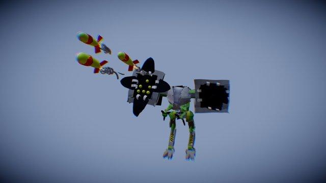 robot #6 3D Model