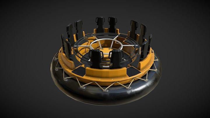 River Rapids 3D Model