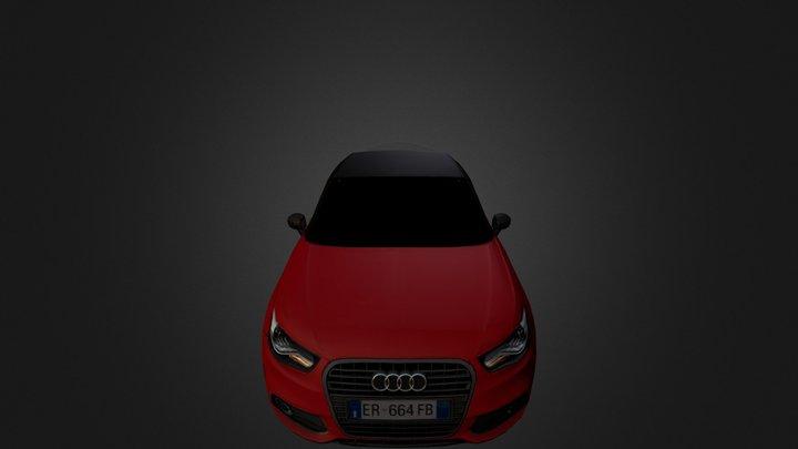 Audi A1 Admired 3D Model