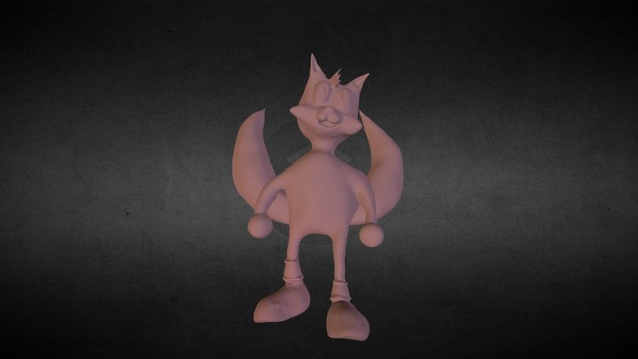 Tails WIP 3D Model