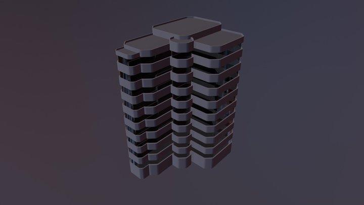 Metro Hospital 3D Model