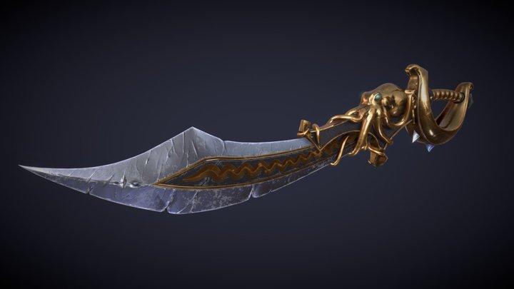 Pirate Sword 3D Model