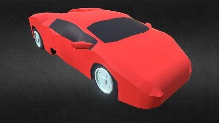 1991 Lamborghini Diablo 3D Model