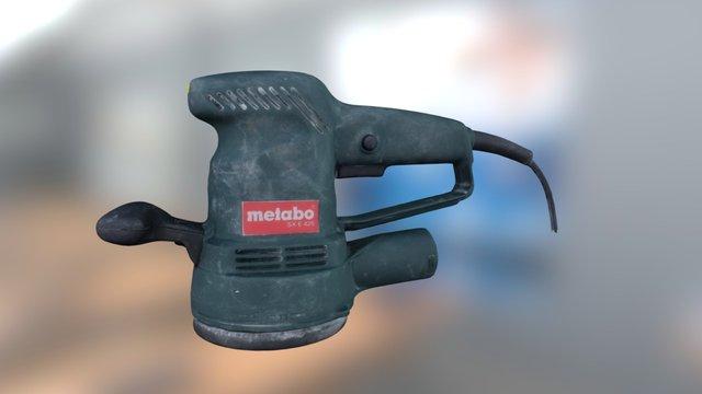 Ponceuse Excentrique Metabo SXE 425 3D Model