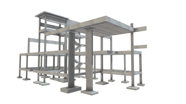 Projeto Residêncial - Santo Amaro 3D Model
