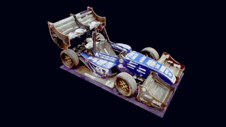 Race Car (3mm decimation) 3D Model
