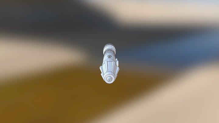 Ploo Koon Lightsaber 3D Model