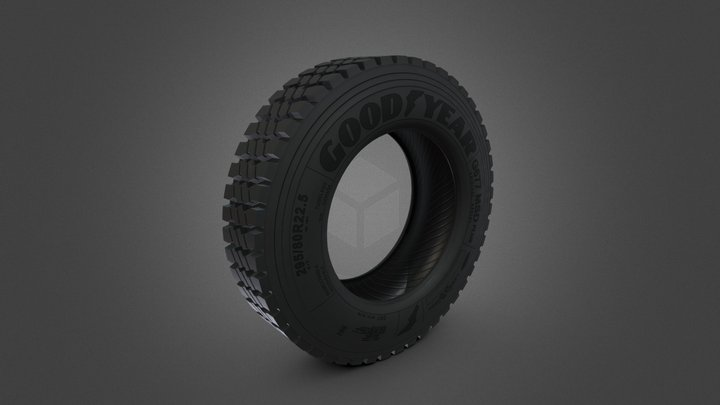 Tire G677 MSD PLUS 3D Model