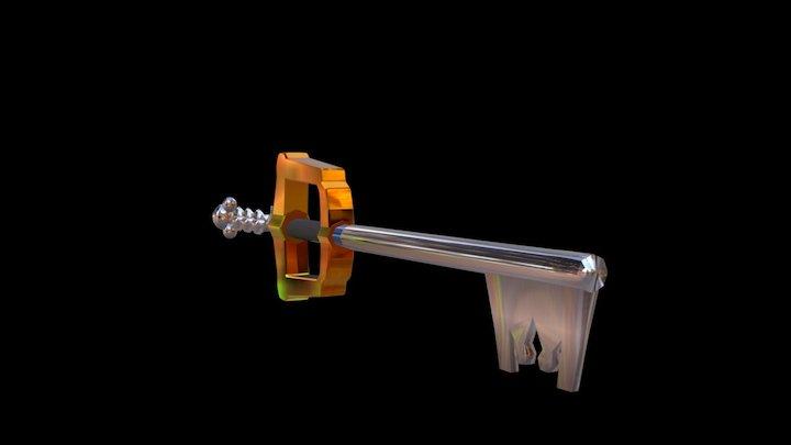 Kingdom Key3 3D Model