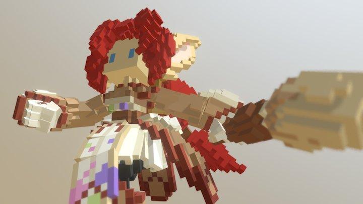 Estelle the yordle 3D Model