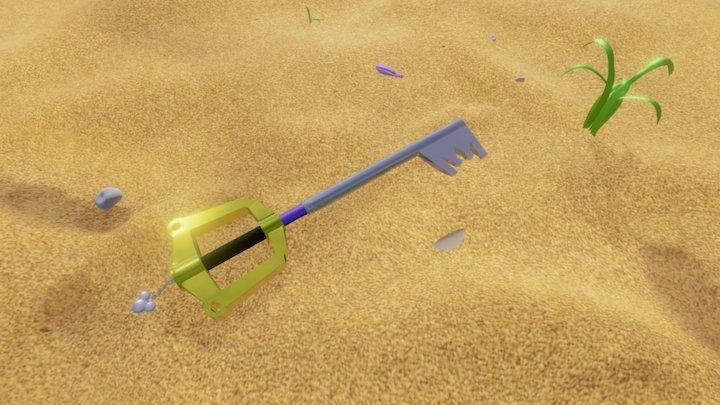 Kingdom key 3D Model