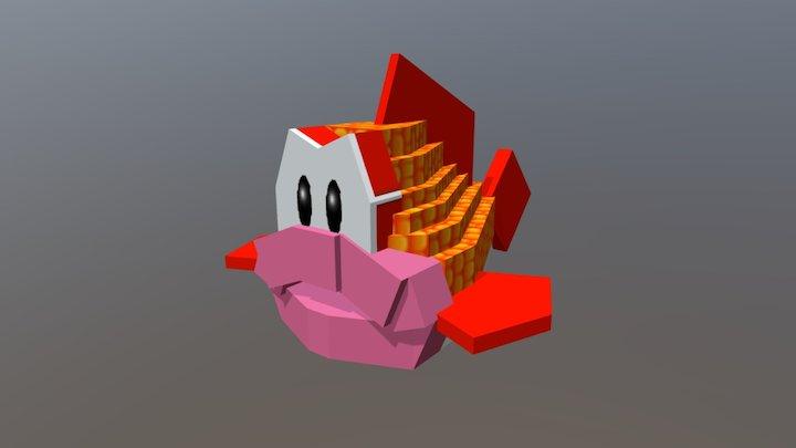 Bubba (Mario Party 1) in Minecraft 3D Model
