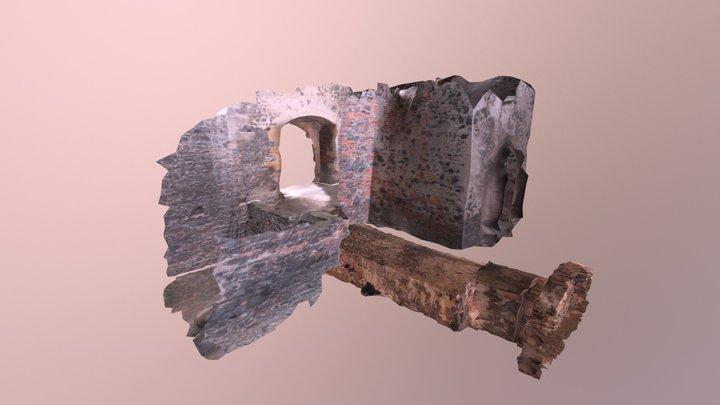 Švihov castle - entrance 3D Model