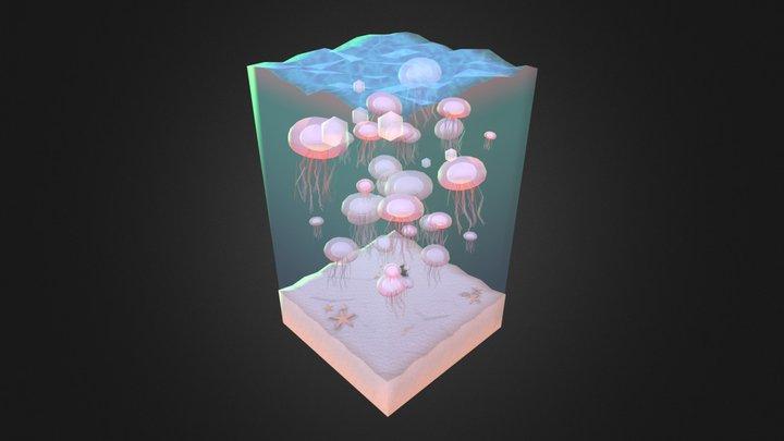Hi!Jellyfish 3D Model