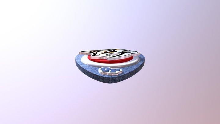 Predators Shield - Mesh Conversion 3D Model