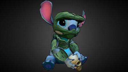 Stitch: Spartan 626 3D Model