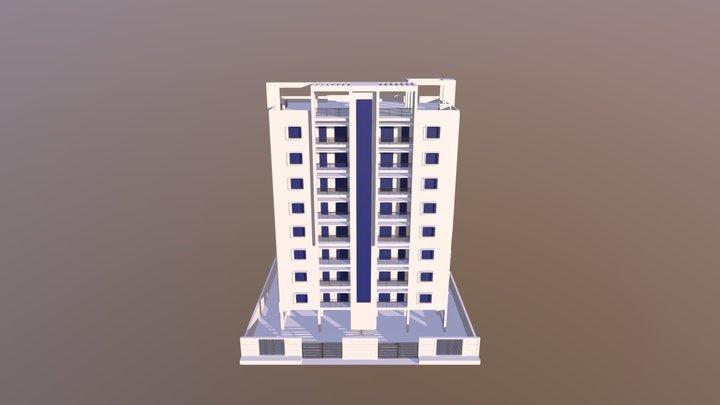 Apartment Building - 3D Model 3D Model