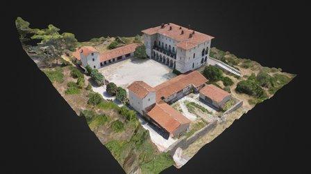 """Mansion of """"Duchesse de Plaisance"""" 3D Model"""
