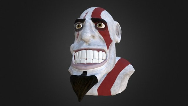 Kratos 3D Model