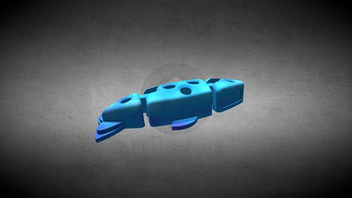 Fishy Thing 3D Model