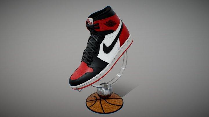 Air Jordan 1 High 3D Model