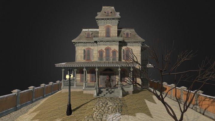 Halloween 2015 Contest: Phantom Manor 3D Model