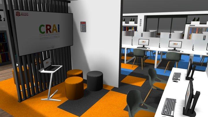CRAI Nivel 4 / Sede Claustro 3D Model