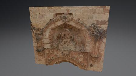 Grupo Escultórico 3D Model